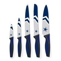 Dallas Cowboys Woodrow 5-Piece Stainless Steel Cutlery Knife Set