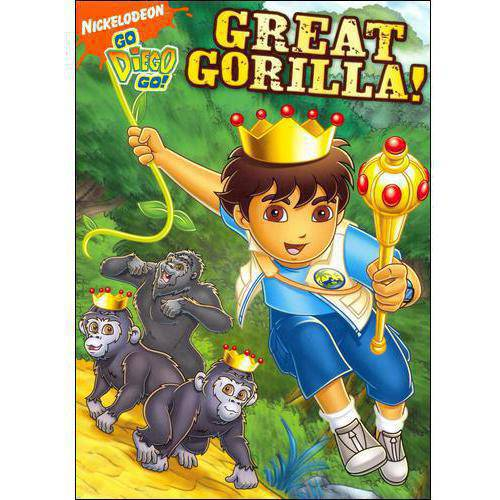 GO DIEGO GO-GREAT GORILLA (DVD)