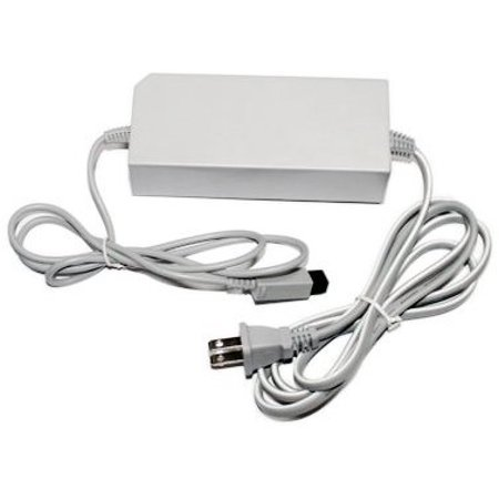 Ac Adapter Replacement Power Supply Cord For Nintendo Wii  Nintendo Plug Adapter Unit Input Version Cord Us Ac Universal Gray Warranty Wired    By Unknown
