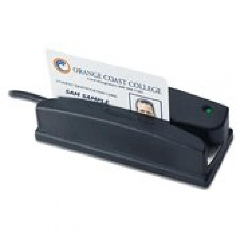 ID Tech WCR3237-633U Omni Barcode and MagStripe Reader, T...