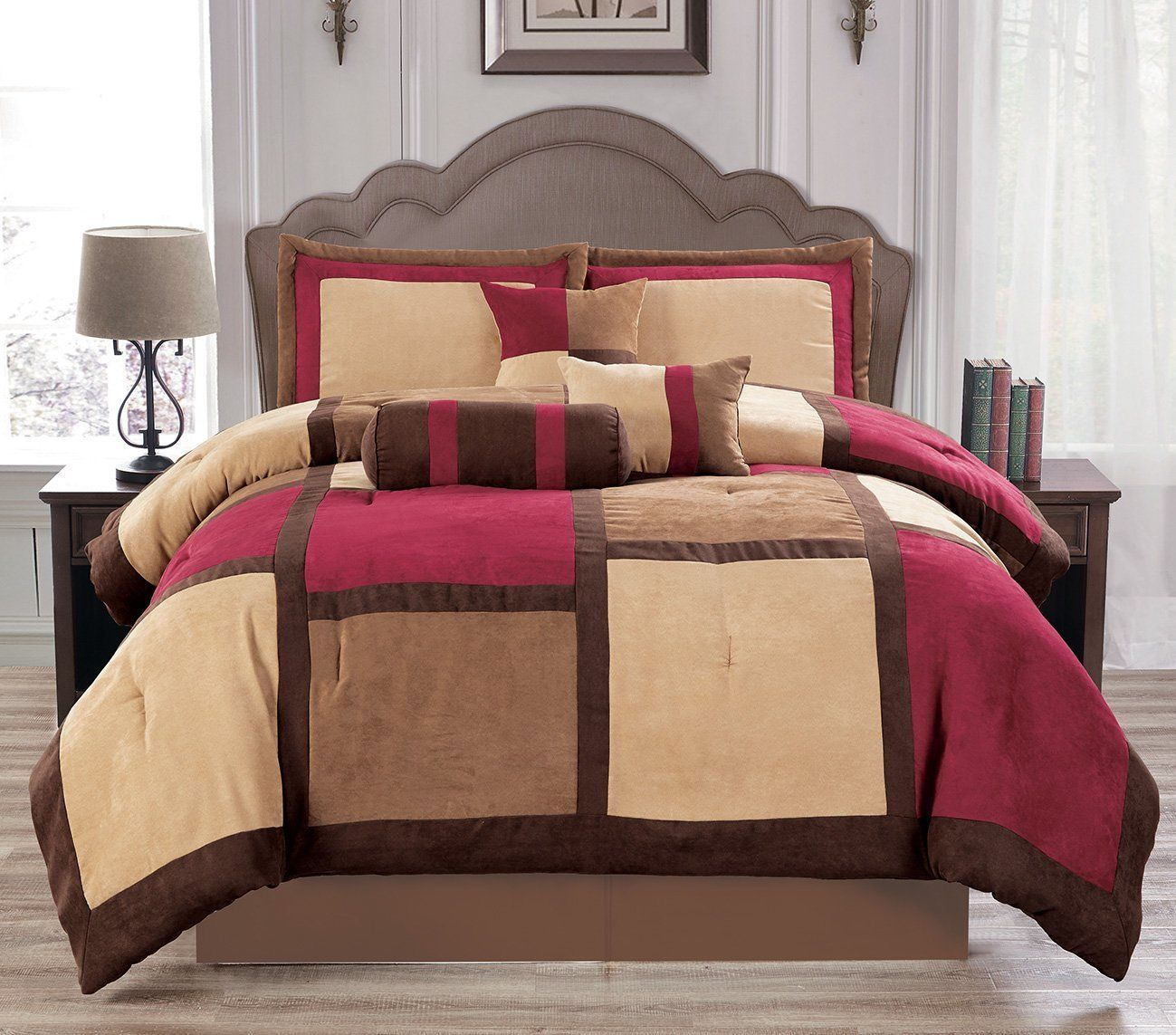 luxurious 11piece micro suede winter soft comforter set