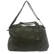 Religion Women's Faux Leather Logo Weekender Bag One Size Grey