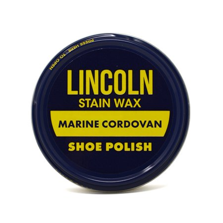 Lincoln Stain Wax Shoe Polish 2 1/8 oz - Marine