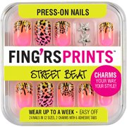 Fingrs nails walmart fingrs prints street beat press on nails knotty girl prinsesfo Image collections