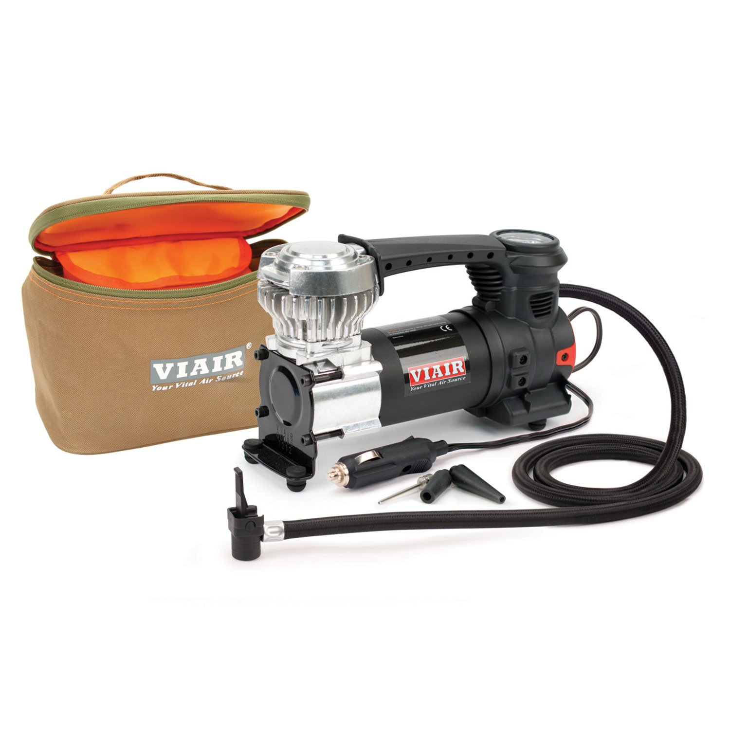 VIAIR 84P 60PSI 1.83 CFM 31 Inch Tires Press On Chuck Portable Air Compressor