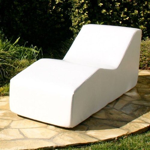 La-Fete Designs WAVE Outdoor Chaise Lounge by Chaise Lounges