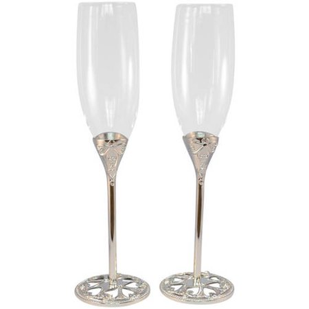 Unik Occasions Wedding Toasting Flutes ()