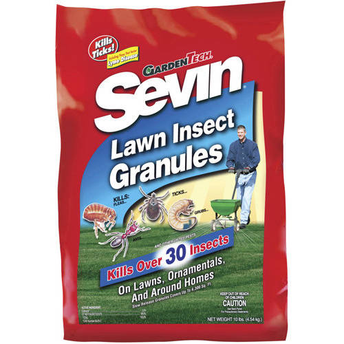 Sevin Lawn Insect Granules Yard & Garden  Insect Killer, 10 lbs