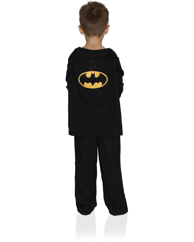 Batman DC Comics Big Boys with Blue Cape Pajamas