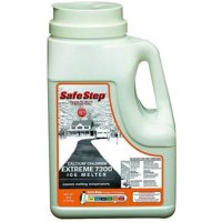 Safe Step Extreme 7300 Calcium Chloride Ice Melter Jug Melts Down To - 25 F / - 32 C 8 Lbs.