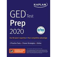 GED Test Prep 2020 : 2 Practice Tests + Proven Strategies + Online