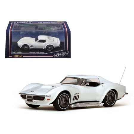 1969 Chevrolet Corvette Coupe Can-Am White 1/43 Diecast Model Car by - 1973 Corvette Coupe