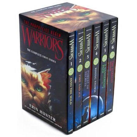Warriors Box Set: Volumes 1 to 6: The Complete First Series - Woodland Warrior