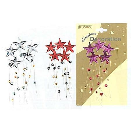 Rhinestone Star Floral Picks by FLOMO