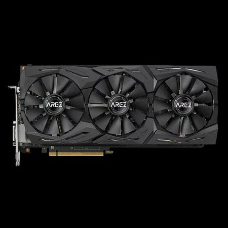 Asus AREZ Strix Radeon RX VEGA56 OC Edition 8GB GDDR5 with Aura Sync RGB for best VR & 4K
