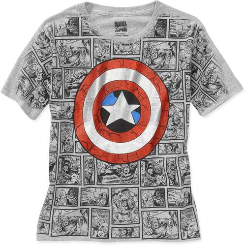 Marvel Boys' Captain America Graphic Tee