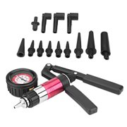 LYUMO Auto Hnad Held Vacuum Pump Pressure Tester Kit Brake Bleeder Test Tool Set with Adapters, Vacuum Pump, Brake Bleeder Tool