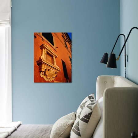 Best Late Afternoon Glow on Building in Trastevere, Rome, Italy Print Wall Art By Glenn Beanland deal