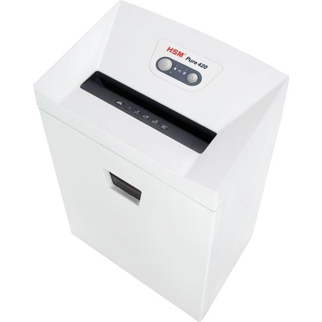 HSM, HSM2341, Pure 420 Strip-Cut Shredder, 1, White