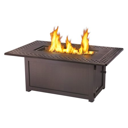 napoleon kensington rectangle patioflame gas fire pit