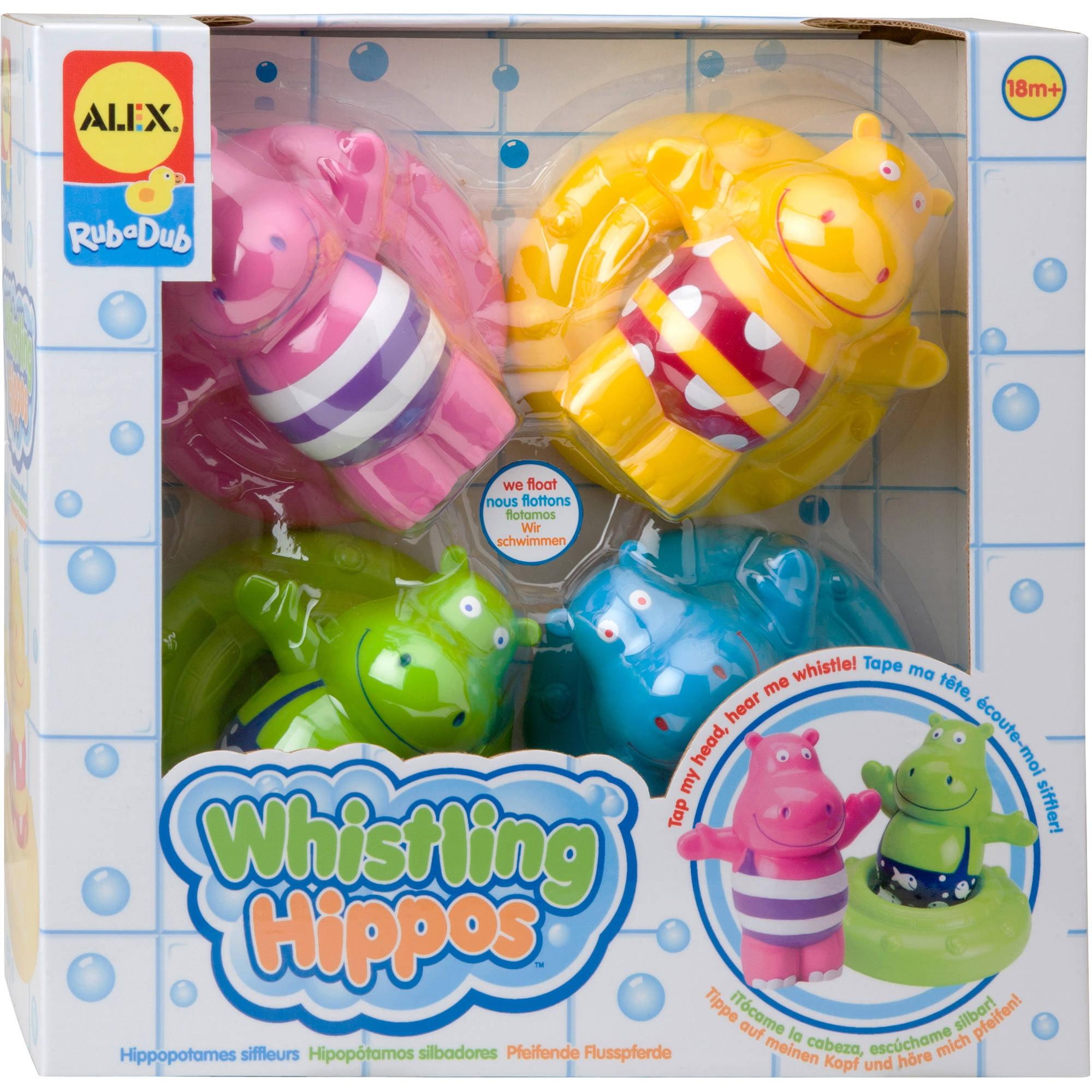 Alex Rub-a-Dub - Whistling Hippos