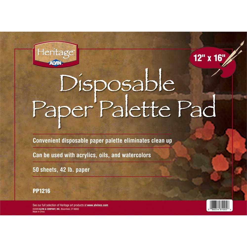"Heritage Arts Disposable Paper Palette Pad 12"" x 16"""