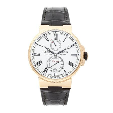 Pre-Owned Ulysse Nardin Marine Chronometer Manufacture (Ulysse Nardin Le Locle Suisse Marine Chronometer)