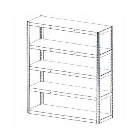 Tennsco Tennsco Corp Die Rack Shelving Units