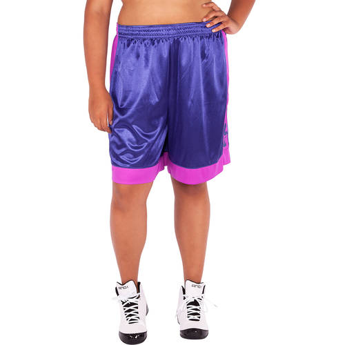 AND1 Women's Plus-Size ALL COURTS Basketball Short