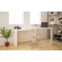 Accentuations by Manhattan Comfort Innovative Calabria Nested Desk Desk in white