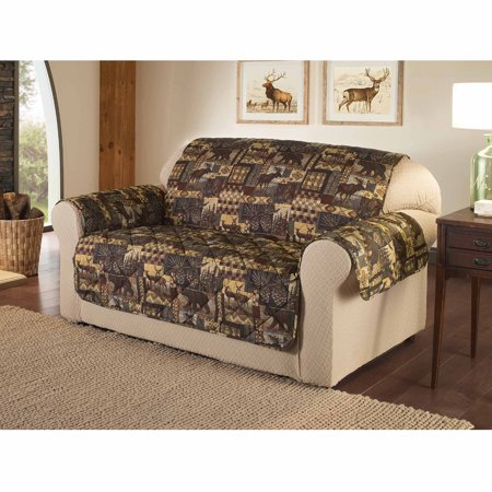 Innovative Textile Solutions Lodge Loveseat Furniture Protector Slipcover ()