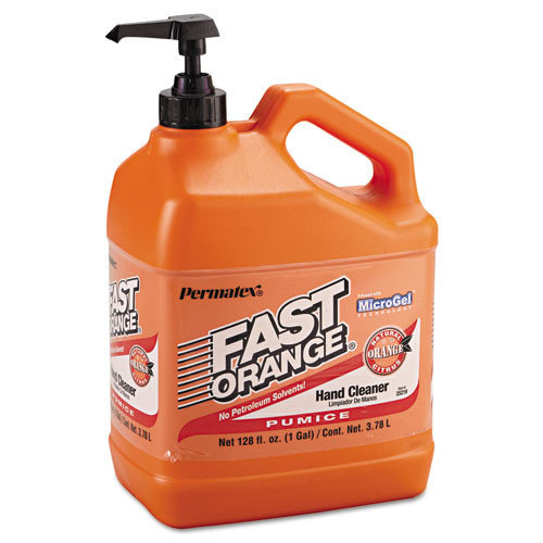 Fast Orange Pumice Lotion Hand Cleaner, 1gal Bottle