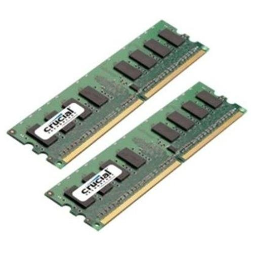 Crucial Technology Ct2kit12864aa667 2 Gb ( 2 X 1 Gb ) Memory - Dimm 240-pin - 667 Mhz