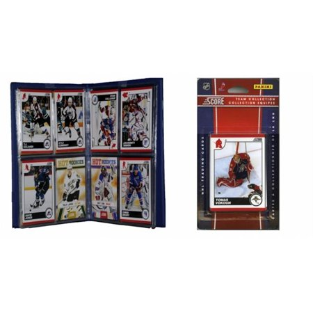 C&I Collectables NHL Florida Panthers Licensed 2010 Score Team Set and Storage (Florida Mall Sports Stores)