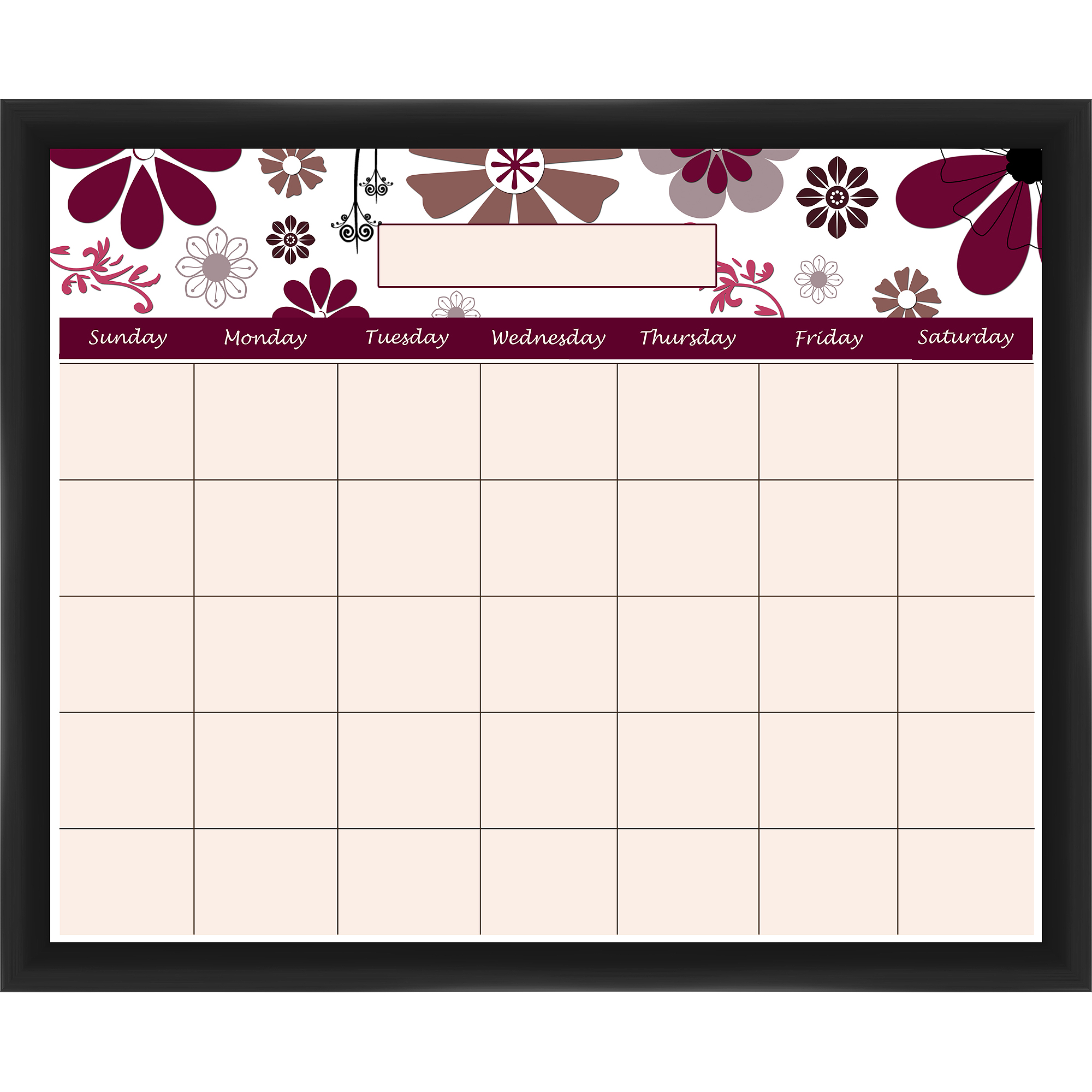 Red Flower I Memoboard