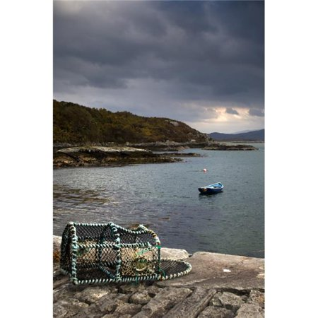 Posterazzi DPI1824173 Boat in The Water Loch Sunart Scotland Poster Print by John Short, 11 x 17 - image 1 of 1