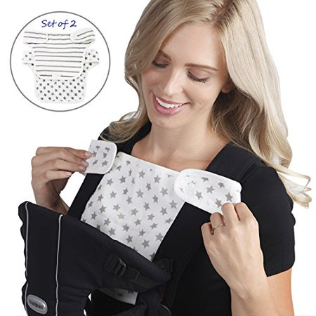 368e02107f5 Baby Preferred® Drool and Teething Bibs Designed to Easy Snug Infant fit  Ergo Babybjorn Lillebaby