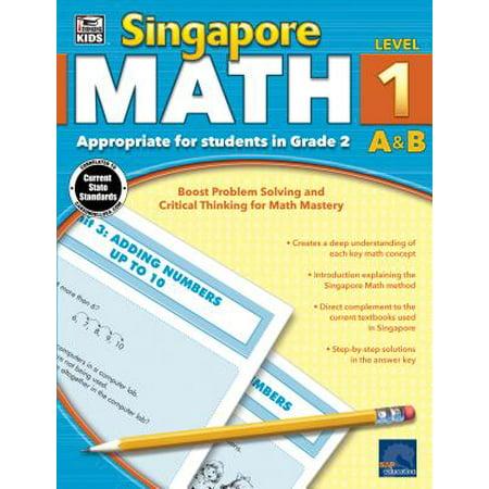 Singapore Math, Grade 2 (Halloween Jobs Singapore)