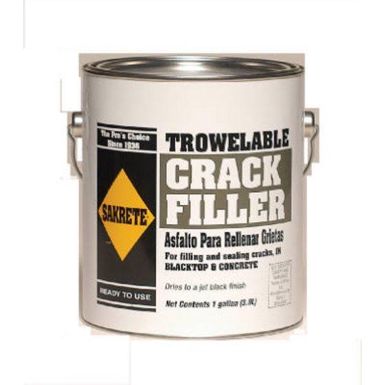 Trowelable Asphalt/blacktop Crack Filler, 1 Gallon, Sakrete, 60450027