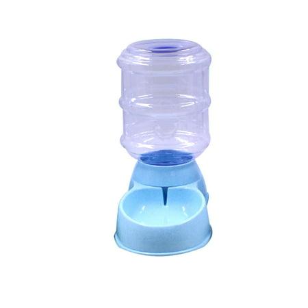 Automatic Pet Water Food Dispenser 3.5L Large Capacity Self-Dispensing Gravity Pet Feeder Waterer Cat Dog Feeding Bowl Drinking Water/Automatic Feeding Pet Supplies