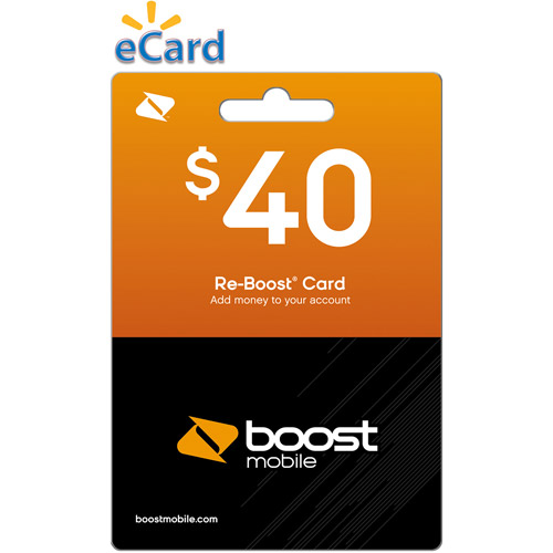 Boost Web Direct Load $40 (Email Delivery)