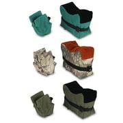 Dilwe Shooting Sandbag, Shooting Bench Sandbag,Unfilled Front & Rear Shooters Gun Rest Sand Bags Shooting Bench Steady Sandbag