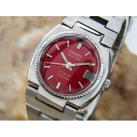 Tugaris Vintage Watch 21 Jewels Automatic Original Swiss Lady Dress Watch NR18