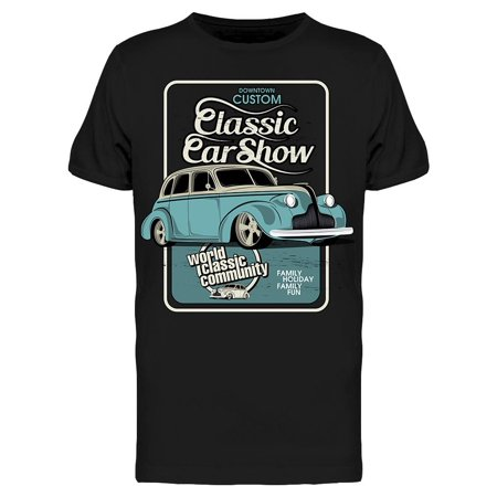 Show Classic Car Tee Men's -Image by Shutterstock