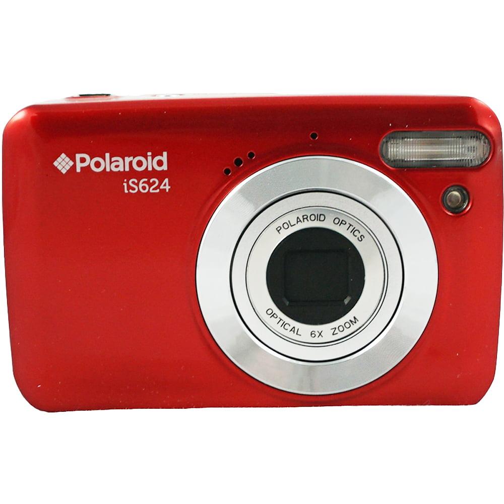 Polaroid 16 MP 6X Optical Zoom Digital Camera Silver