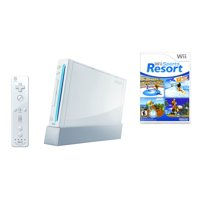 Refurbished Wii Console White Wii Sports Resort Bundle