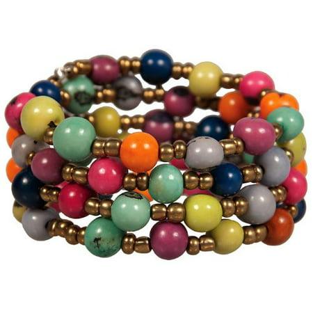 Fair Trade Acai Wrap Bracelet - Classic Multi