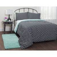 Heritage Club motif mint bed in a bag bedding set