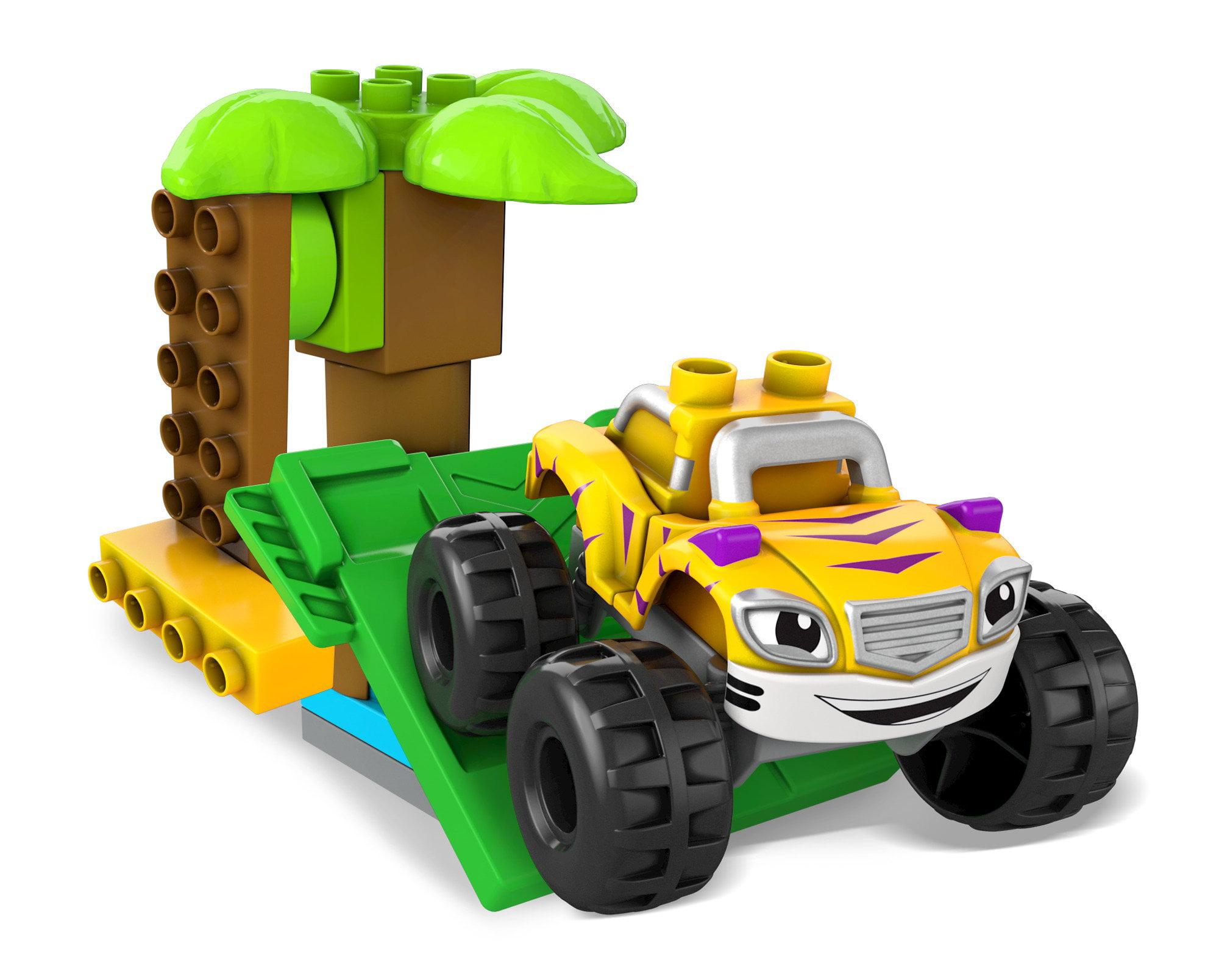 Mega Bloks Nickelodeon Blaze and the Monster Machines Stripes Jungle Stunt Vehicle by Mega Bloks