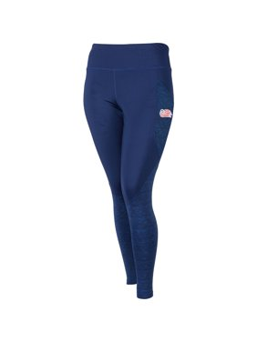 New England Revolution ZooZatz Women's Plus Size Pocketed Leggings - Navy